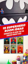 19 beyond clever superhero room ideas you u0027ll want to steal
