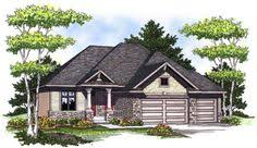 2 craftsman house plans machray craftsman ranch home front of home from houseplansandmore