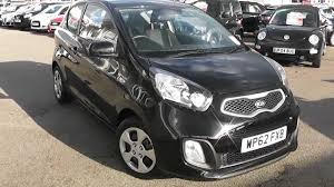 used car kia picanto 1 air galaxy black wp62fxb wessex