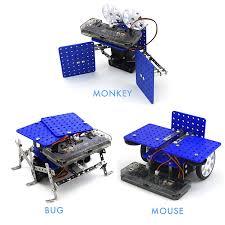 amazon com 11 in 1 programmable robot kit stem learning