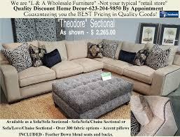 Sectional Or Sofa And Loveseat The U201ctheodore U201d Sectional U2013 Stunning Design U2013 Usa Made Phoenix