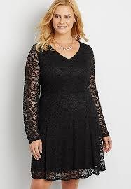 plus size paisley lace dress maurices
