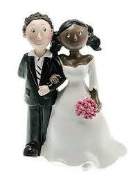 figurine mariage mixte figurine des mariés escalier luxe pour changer des