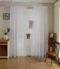 honana wx c8 1x2m fashion butterfly voile door curtain panel