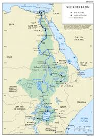 Africa Map Rivers Egypt Rivers And Lakes Map