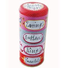 rachel ellen stackable jewellery tin is ideal for keeping your 12