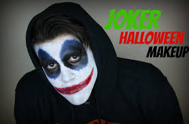 halloween make up joker joker halloween makeup tutorial on my boyfriend youtube
