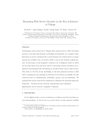 PDF QoS based Discovery and Ranking of Web Services