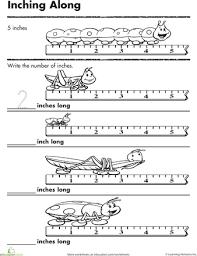 measurement worksheets for kıds 5 funnycrafts
