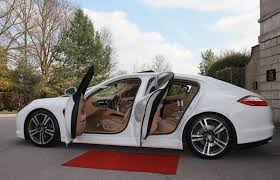 porsche panamera white porsche panamera wedding car hire cupid carriages
