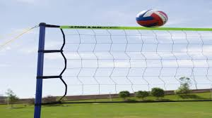 park and sun spiker flex outdoor volleyball set color orange youtube