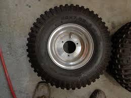 honda odyssey fl250 tires honda fl250 odyssey chen shin front tire and douglas wheel setof 2