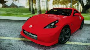 nissan 370z nismo modded nissan 370z for gta san andreas