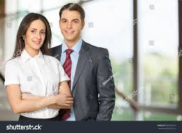 couple business professional occupation stock photo 283799519