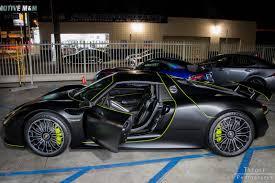 black porsche 918 gtspirit owners stealth black porsche 918 spyder gtspirit