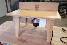 making a router table diy router table