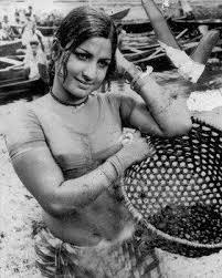 Jayabharathi Photos - bw actress jayabharathi old stills from movies iactress