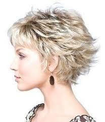 50 year old womans hair styles short curly haircut for women over 50 lively curls in razored cut