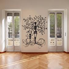 aliexpress buy decoration skeleton tree wall decal