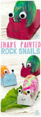 shake painting cute snail rock craft kids craft room