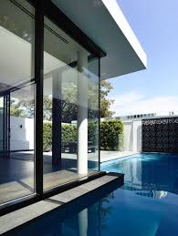 House Design Glass Modern by Architecture Glass Wall Around Making Natural Light In Great