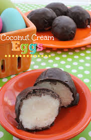 coconut eggs easter chocolate dipped coconut eggs