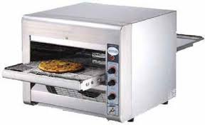 Conveyor Belt Toaster Oven Omcan 11387 Conveyor Commercial Restaurant Counter Top Pizza