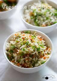 cuisine recipes easy vegetable fried rice recipe easy veg fried rice indian style recipe
