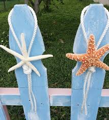 starfish decorations tying the knot nautical wedding aisle decorations white