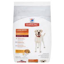 hill u0027s science diet large breed light with chicken meal u0026 barley