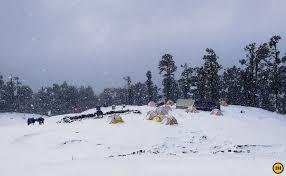 top 6 winter treks in india best time to trek in snow in the