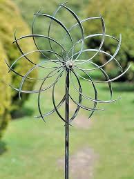 garden wind spinners metal uk spinners metal garden ornaments