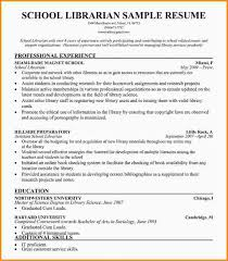 Library Resume 7 Librarian Resume Mac Resume Template