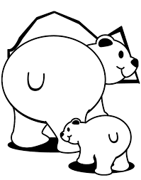 bear coloring pages wallpaper