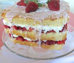 strawberry chiffon cake saucy cuisine cook with saucessaucy
