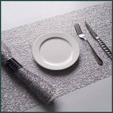 new design hotel table mat table runner hotel dish placemat hotel