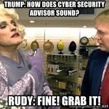 It Security Meme - cyber security advisor meme generator