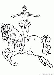 dessin de coloriage cheval à imprimer cp07367