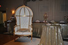 royal throne sweet 16 chair party planner juliana dez pinterest