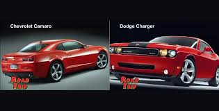 chevy camaro vs dodge charger roadtrip cars chevy camaro and dodge charger