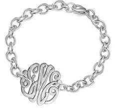 monogram bracelet sterling silver silver bangle monogram bracelet sterling silver with monogrammed