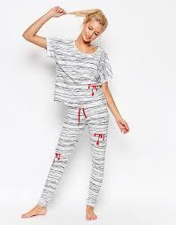 halloween pajamas womens the wildfox pajamas fleur de lis summer sleep set u n d e r