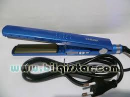 Catok Uap catok pelurus uap digital nhc 8011 crm titanium bilqisstar