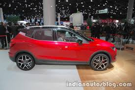 seat arona fr side at iaa 2017 indian autos blog