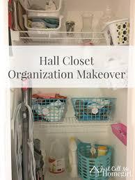 hall closet makeover organization just call me homegirl