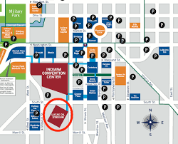 Notre Dame Stadium Map Lucas Oil Stadium Parking Guide Prices Maps Deals Spg