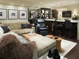 hgtv basement ideas family room decorating ideas with sectional