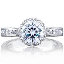 tacori dantela tacori tacori dantela collection pave halo diamond engagement