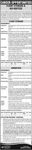 Hostess Skills Pakistan International Airlines Pia Jobs Air Hostess U0026 Flight
