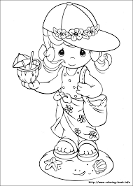 precious moments wedding coloring pages funycoloring